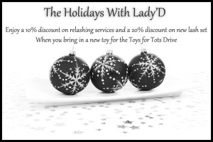 holiday promotion Lady D